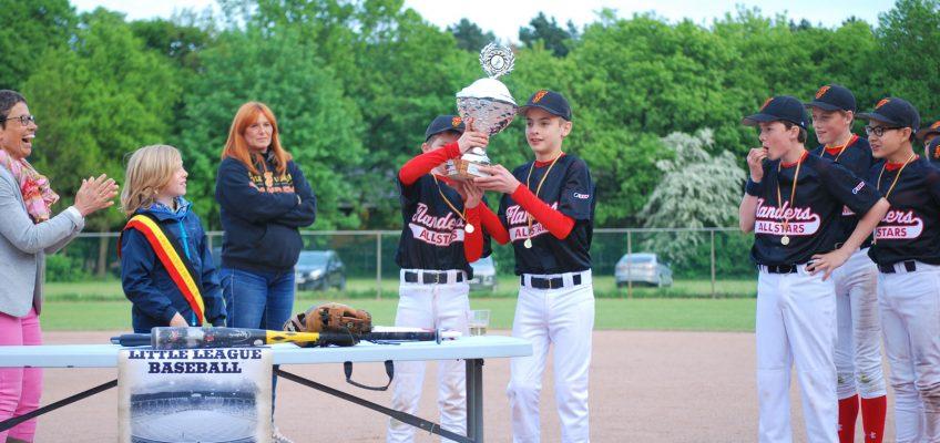 Winnaars BK Little League Baseball zijn allen Flanders Teams