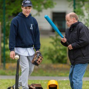 Er komt steeds meer G-Baseball in Vlaanderen. Nice!
