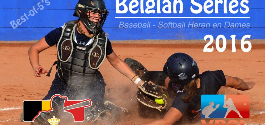 Belgian Series Baseball en Softball super spannend komend weekend