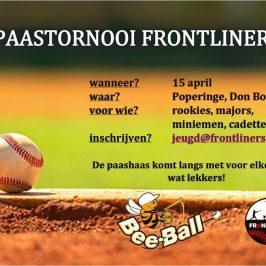Paastornooi Frontliners 15/04/2017