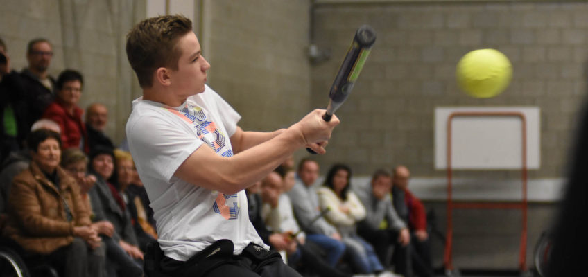 Het eerste Vlaamse Rolstoel Softball Team is een feit en pakt meteen uit met een groot tornooi in Peerdsbos