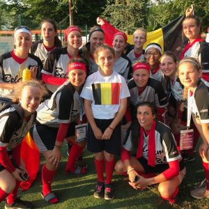 Nationaal Team Softball Dames strijden om plaats 13