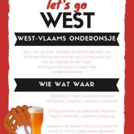 Let's go West: 17 & 18 maart 2018