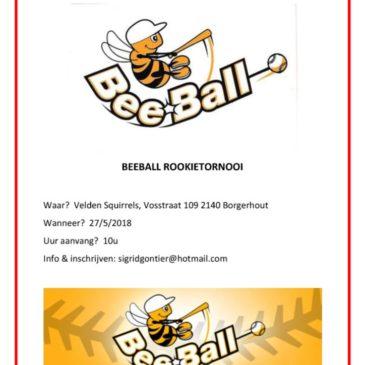 Rookie Tornooi Borgerhout 27 mei