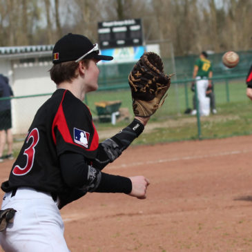 6 Academy spelers uitgenodigd voor U15 MLB Try-outs in Toulouse