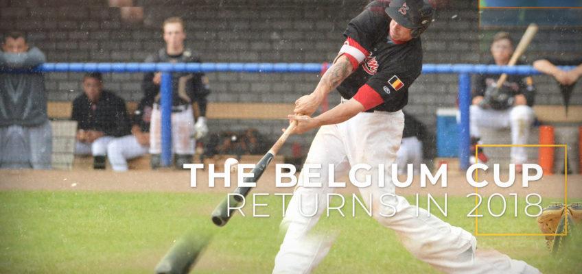 De Beker van België Baseball is terug